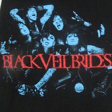 Black Veil Brides T-Shirt Andy Biersack Heavy Metal Hard Rock Glam Band Sz Small