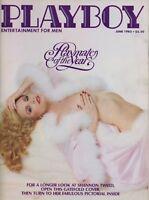 PLAYBOY JUNE 1982 Shannon Tweed Lourdes Estores Sugar Ray Leonard Cheryl Flor