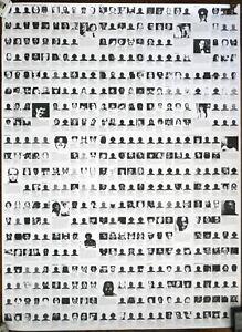 Felix Gonzalez Torres - Untitled (Death By Gun) 1990 - Offset Lithograph MOMA