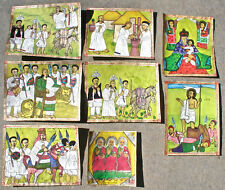 Abyssinian/Ethiopian Folk Art Paintings
