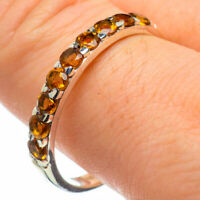 Citrine 925 Sterling Silver Ring Size 11 Ana Co Jewelry R29138F