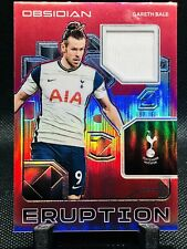 2020-21 Panini Obsidian Soccer Asia Red Eruption Relics Gareth Bale 1/44 ****
