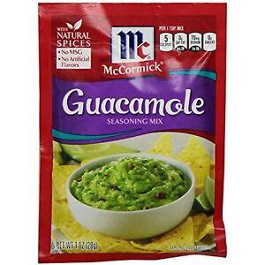 McCormick GUACAMOLE Seasoning Mix 4 Packets