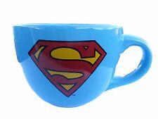 DC Comics SUPERMAN Logo 24 oz Ceramic Soup Mug