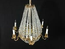 12th Scale Real Crystal Chandelier by Heidi Ott of Switzerland
