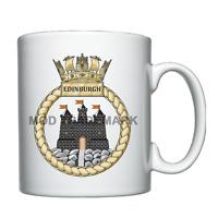 HMS Edinburgh  -  Royal Navy - Personalised Mug