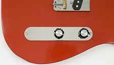Telecaster Deuce Custom Control Plate, Aircraft Aluminum by RockRabbit Guitars