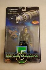 BABYLON 5  Dr. Stephen Franklin  Action Figure WB 1997 FACTORY SEALED exclusive