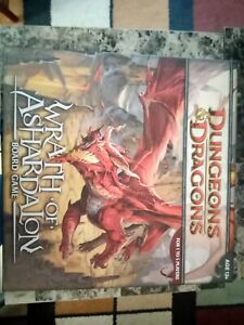 Dungeons & Dragons Wrath of Ashardalon D&D Board Game 100% COMPLETE- Great Cond.