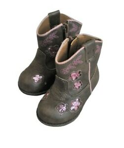 Garanimals Cowgirl Western Faux Leather Boots for Toddler Girls Size 3