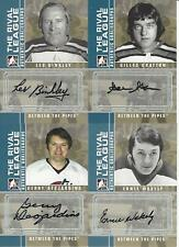 08-09 IN THE GAME BETWEEN THE PIPES GERRY DESJARDINS THE RIVAL LEAGUE AUTOGRAPH