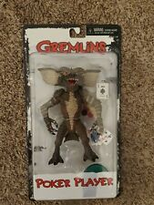 """NECA Gremlins 6"""" Poker Player Gremlin Figure Reel Toys- opened with box"""