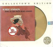 Johnson, Robert King of the Delta Blues Singers MASTERSOUND Gold CD SBM NUOVO OVP