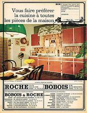 PUBLICITE  1966   ROCHE BOBOIS meubles cuisine équipée