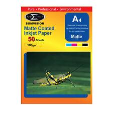 Sumvision Mate Revestido A4 Impresora de inyección de Tinta Papel fotográfico