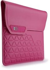 "CaseLogic pink iPad/ tablet water resistant sleeve/ pouch (fits upto 10"")"