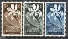 GUINEA ESPAÑOLA Edifil # 314/316 **  MNH  Flowers