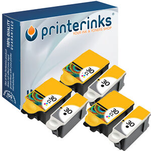 30XL Black & Colour (8039745) Compatible Ink for Kodak ESP 3.2S C115 - 6 Pack