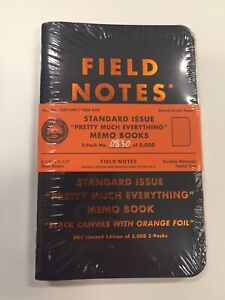 New Field Notes Everything Else Enhancement Kit EEEK Sealed 3 Notebooks #0830