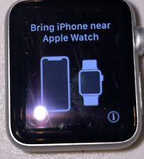 Apple Watch Series 1 38MM Silver GPS - Read Description
