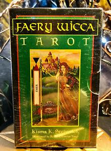 Vintage Faery Wicca Tarot  by Krisma k Stepanich Tarot Deck. Sealed - New OOP
