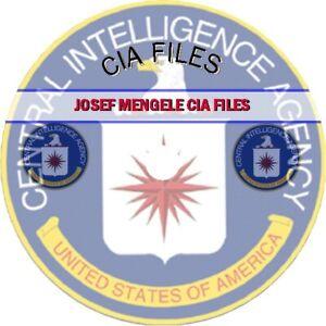 """Josef Mengele - """"Dr. Mengele"""" CIA Files"""