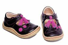 NEW Livie & Luca Size 5 Nela Black Pink Tassle Shoes RARE Girls Fuschia Leather