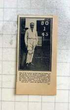 1914 Speaker Of The House Of Commons, Mr Lowther Enjoying Game Of Cricket