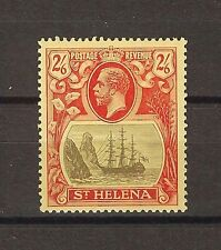 "ST HELENA 1922 SG 94B ""Torn Flag"" MNH Cat £650"