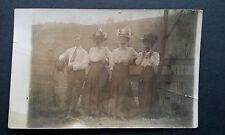 RPPC 1904-20 Ladies with Big Hats Long Dresses Scene Postcard AZO