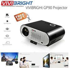 100% Original Vivibright GP90 LED Projector 3200 Lm 1280*800 Anaglyph 3D Support