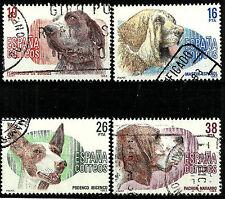 ESPAÑA. 1983. SERIE COMPLETA. PERROS DE RAZA ESPAÑOLA (EDIFIL 2711 A 2714)