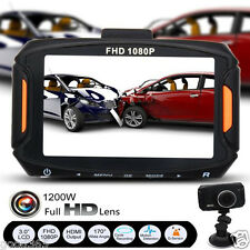 "3"" Full HD 1080P Car DVR Camera Video Recorder Dashboard Night Vision G-Sensor"
