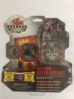 Bakugan Gundalian Invaders Super Assault Bakuvice Grey