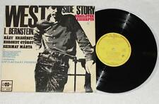 "WEST SIDE STORY Leonard Bernstein 10"" Vinyl LP Qualiton Hungary 1967 * RARE"