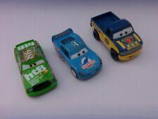 3 DISNEY PIXAR  DIE CAST METAL CARS #95 #86 & PISTON CUP TRUCK