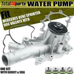 Water Pump for Mercedes Benz 906 Sprinter3,5-t Valente Vito W639 2003-2018 2.2L