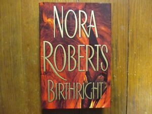 "NORA  ROBERTS(""J D  Robb"")Signed Book(""BIRTHRIGHT""-2003  First Edition Hardback)"