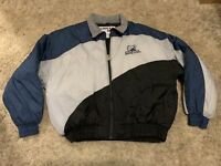 Vintage 90's Penn State Puffer Jacket Coat PSU Football NCAA College XL