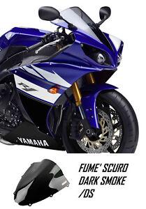 YN092/DS FABBRI Cupolino OEM Replica Fumé Scuro per Yamaha YZF R1 2012 2013 2014