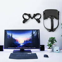 PLA 3D Wall Holder Stand Mount Set for Oculus Quest VR Headset Touch Controllers