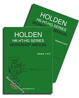 Holden GMH Factory HK HT HG Workshop Manual NEW Repair Service Book inc Monaro