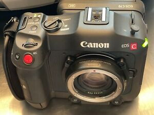 Canon EOS C70 Cinema Camera Kit used once, EF 0.71x adapter for RF included