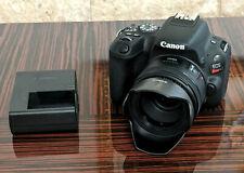 Canon EOS Rebel SL2 24.2 MP Digital SLR Camera With Lens - Black EXCELLENT