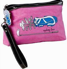 NEW SYDNEY LOVE PINK GOLF Wristlet