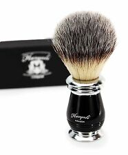 Syntactic Hair Shaving Brush With the Antique designed handle in Black & Metal