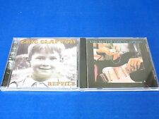 New listing Eric Clapton 2 Cd Rock Lot - Reptile & The Best Of Eric Clapton (Ex Condition)
