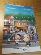 Animal Crossing: City Folk/Rabbids Go Home 15.5''x11.5'' Double Sided Poster