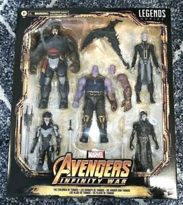 Marvel Legends Children Of Thanos 5 Pack Exclusive Action Figure Set In Hand New