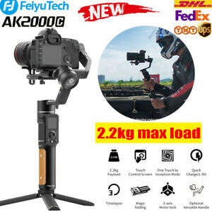 FeiyuTech AK2000C 3 Axis Stabilizer Gimbal Foldable for DSLR/Mirrorless Camera